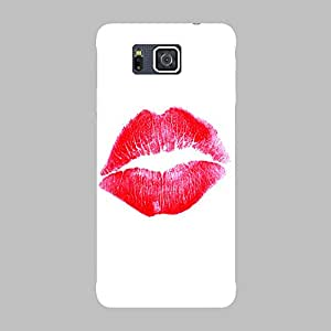 Back cover for Samsung Galaxy Alpha Lips