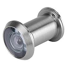 Home Security Door Viewer-Home Security Optisch glas 220 Graden Groothoek deur Kijker(zilver)
