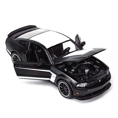 SSBH Automodellauto Druckguss-Modellsammlung Ornamente Kinderspielzeugauto BOSS Sportwagen-Modellauto