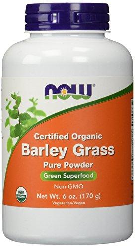 NOW Foods - Polvere organica, Non-GE dell'erba di orzo - 6 oncia.