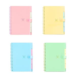 toymytoy 4pcs Note Book A6Spiral