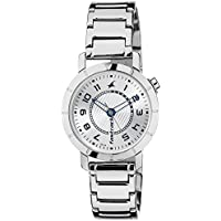 Fastrack Analog Silver Dial Women's Watch - 6112SM01