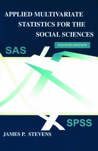 Applied Multivariate Statistics for the Social Sciences, Fifth Edition (Applied Multivariate STATS)