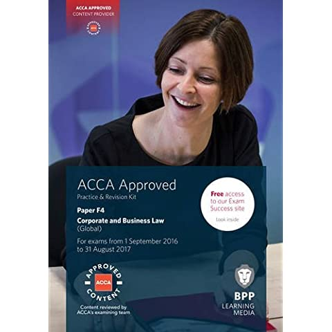 ACCA F4 Corporate and Business Law (Global):
