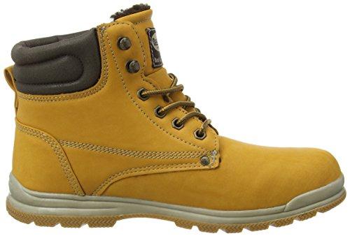 Dockers by Gerli 37WA713-650300 Unisex-Kinder Combat Boots Gelb (golden tan 910)