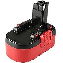 Batería Mitsuru para Bosch GSB 18VE-2, GDS 18V-HT, GSR 18VE-2, PSB 18VE-2, 1644K, 1644K-24, 1646K, 1659K, 1659RK, 1662K-24, Modelo gd-bos- 18Ni-MH 18V 3000mAh
