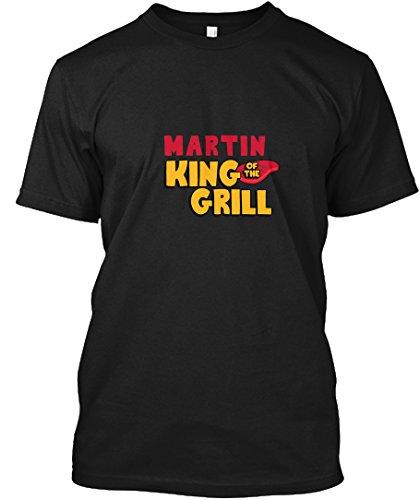 teespring Novelty Slogan T-Shirt - Martin King of The Grill