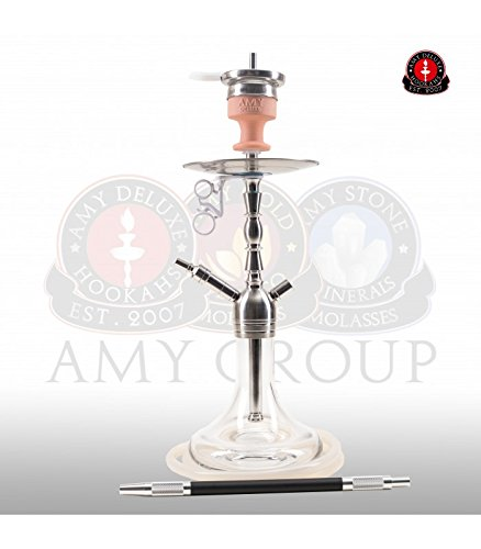 AMY Little Hammer SS10 clear | Edelstahl Shisha Wasserpfeife Hookah