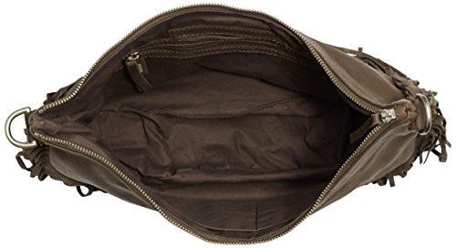 Amsterdam Cowboys Bag Elland, Sacs portés épaule Marron - Braun (Mud 560)