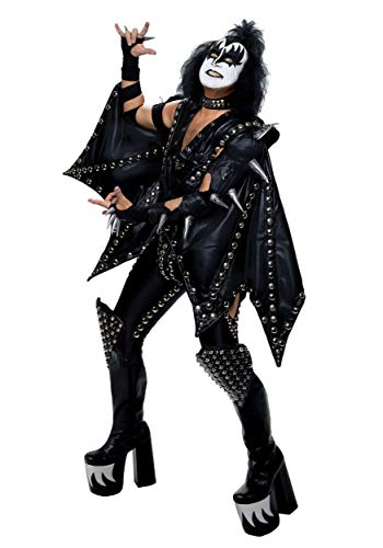 Plus Size Authentic Gene Simmons KISS Fancy Dress Costume 2X