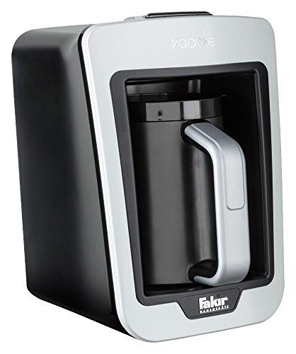 Fakir Kaave 9177003 / Mokkamaschine Kaffeekocher Kaffeebereiter elektrisch , Kunststoff, easy One Touch Steuerung - weiß  735 Watt