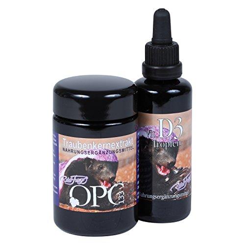 OPC133® by Robert Franz (60 Kapseln) + Vitamin D3 Tropfen (50 ml)