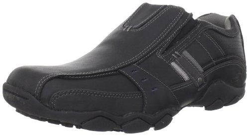 Skechers Diameter Garzo, Chaussures de ville homme Noir (Blk)