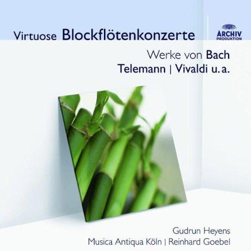 Virtuose Blockflötenkonzerte (Audior)