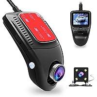 """Dash CAM, Tenswall Cámara de Coche WiFi 1080P Full HD Videocámara DVR G-Sensor, Ciclo de Grabación, Visión Nocturna, 2.0""""LCD, 170° Ángulo Coche Dashboard Camera Grabadora"""
