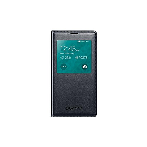 Samsung EF-CG900BBEGWW S View Cover per  Galaxy S5, Nero