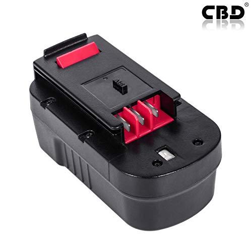 CBD 18V 3.0Ah Batterie für Black & Decker HPB18 HPB18-OPE 244760-00 A1718 A18 FSB18 FEB180S Akku-Elektrowerkzeug Zubehör Ersatzbatterie Hpb18 Ope Power Tools