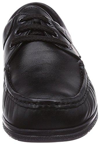 Fischer 17219, Mocassins (loafers) Femme Noir (schwarz 222)