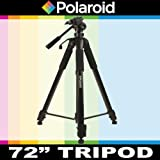 Polaroid 183 cm Photo / Video ProPod Tripod Includes Deluxe Tripod Carrying Case + Additional Quick Release Plate For The Samsung HMX-F80, F90, U20, Q20, QF20, QF30 Camcorder