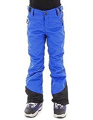 Brunotti Pantalones de esquí invierno snowboard Pantalones Pantalones Lido Azul Resistente Al Agua Caliente, color azul, tamaño 12 años (152 cm)
