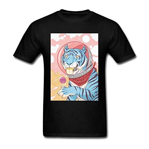 Sungboys Lollipop Tiger - Camiseta de Manga Corta para Hombre