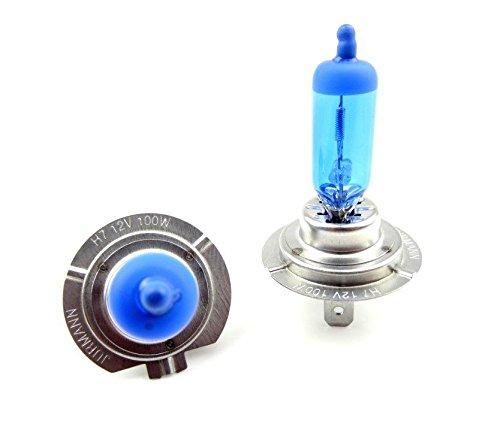 2x H7 12V 100W 6000K PX26d HALOGEN LAMPEN XENON EFFEKT JURMANN ORIGINAL SUPER WHITE 2 STÜCK 100 WATT