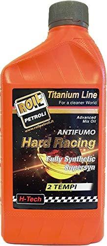 1 litro di - ROIL Hard Racing 2T ANTIFUMO 100% Sintetico per Motori 2 Tempi - JASO FD - Aprilia DFI