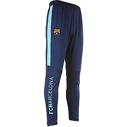 FC Barcelona - Pantalón de entrenamiento de la colección oficial FC Barcelona para hombre, talla para adulto, Hombre, azul, XXL