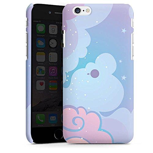 Apple iPhone X Silikon Hülle Case Schutzhülle Wolken Himmel Sterne Premium Case matt