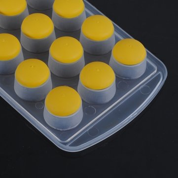Obsidian -Zylinder -Silikon-Kuchen Seife Jelly Cube -Eis-Behälter -Formen