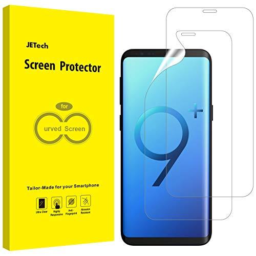 JETech Schutzfolie für Samsung Galaxy S9 Plus S9+ (Nicht Geeignet S9), TPU Ultra HD Folie, Fall Fre&lich, 2 Stück