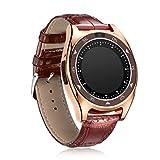 Die besten Mio Herzfrequenz-Uhren - H.M.D Smart Watches Intelligente Runde Bildschirm Karte Armbanduhr Bewertungen