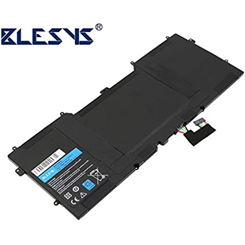BLESYS - 7.4V/6300mAh DELL Y9N00 TYPEN ordenador portátil del reemplazo de la batería encaja Dell XPS 13Z, XPS L321X, XPS L322X, XPS 13-L321X, XPS 13-L322X, XPS 13 Ultrabook