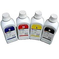 مجموعة أحبار إعادة التعبئة للطابعات - 4 ألوان مخصص لطابعات إتش بي HP Refill ink 4 colors for printer