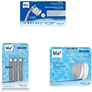Ionic Shower Filter - Handheld (Generation X - Limited Edition) + Extra NMC Refill Cartridge + Spare Part Set