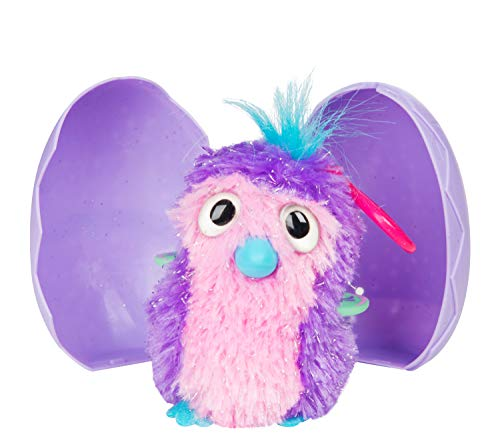 HATCHIMALS HML-102 Glittering Garden - Stuffed Egg Clip in CDU ,, 6,35 cm