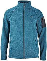 Chaqueta/strickfleece ternua Polar zorge, talla M, Duck Blue, 1642687, Azul Verde Exterior Forro Polar UVP 114,95 euros
