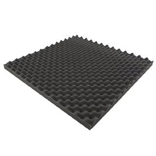 Akustikpur - 10m² = 40 St. ca. 49 cm x 49 cm x 3 cm - Noppenschaumstoff, Akustikschaumstoff, Akustik Schaumstoff,Akustik Dämmung