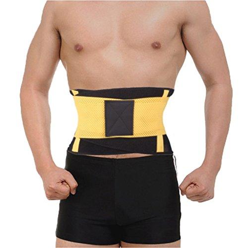 DODOING Fitnessgürtel Bauchgürtel zur Fettverbrennung - Taillentrimmer für Männer und Frauen - Schwitzgürtel zum abnehmen (Im Griff Schlanker Fest Beine)