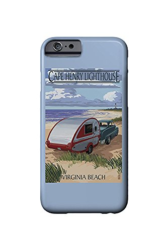 Cape Henry Lighthouse (Virginia Beach, Virginia - Cape Henry Lighthouse and Camper (iPhone 6 Cell Phone Case, Slim Barely There))