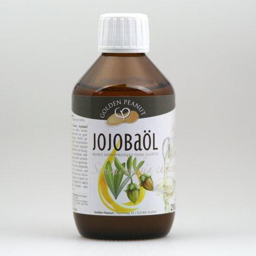 Golden Peanut Jojobaöl kaltgepresst 250ml Flasche