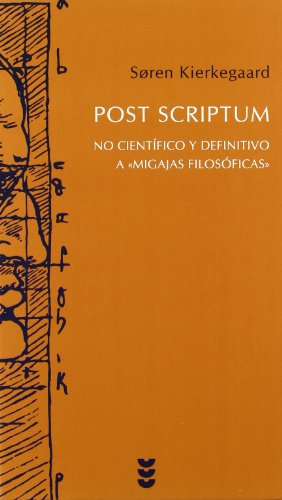 Post scriptum: No científico y definitivo a