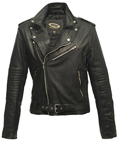 #Damen Lederjacke aus weichem Rindnappaleder (XL)#