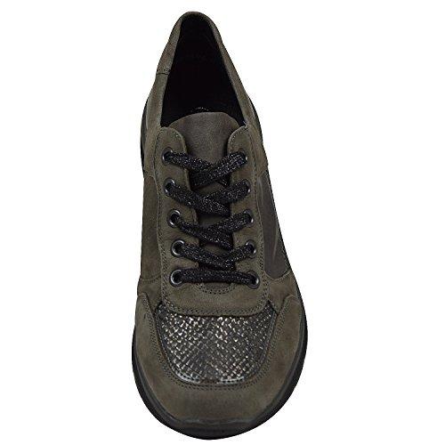 Remonte  D5300-25, Chaussures de ville à lacets pour femme Gris