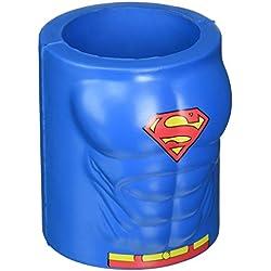 Icup 15971DC Superman pecho enfriador de latas de espuma, multicolor