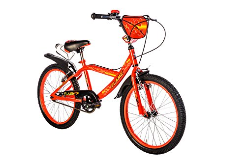 F.lli Schiano Flame Vélo Garçon, Rouge/Noir, Taille 20'