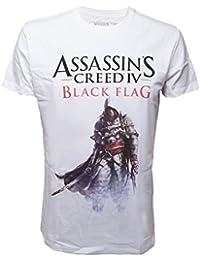 Assassin's Creed IV - Black Flag - T-shirt Edward Kenway - blanc