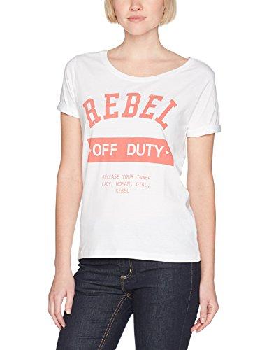 DESIRES Damen T-Shirt Weiß
