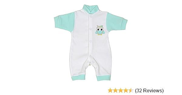 BabyPrem Preemie Baby Romper Playsuit Penguin Owl Clothes 1.5-5.5lb
