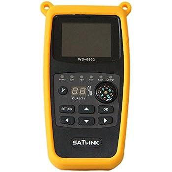 SATLINK WS-6980 Satfinder DVB-S2 + DVB-C DVB-T2: Amazon.de